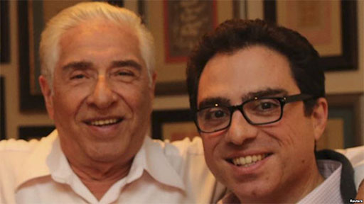 Siamak and Baquer Namazi