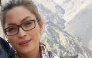 ساناز اله یاری، از متهمین پرونده اعتراضات هفت تپه